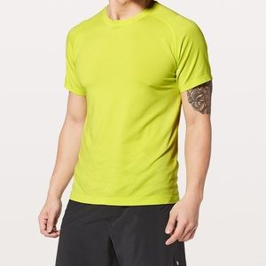 LULULEMON Neon Metal Vent Tech Short Sleeve Tee M